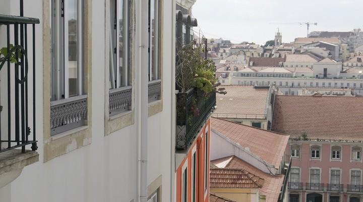 De wijk Baixa