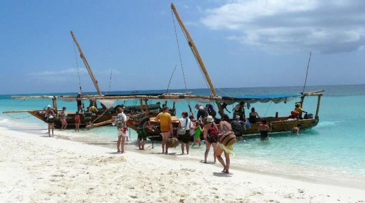 Op bootsafari tijdens de rondreis Kenia-Tanzania