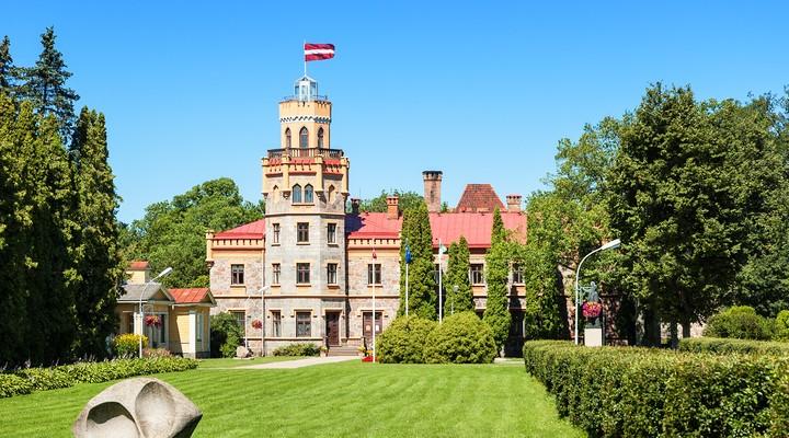 Sigulda, gebouw in Letland