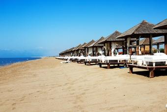 Het strand van Belek