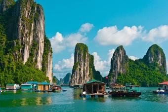 Landschap Vietnam