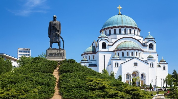 Monument Belgrado, Servië