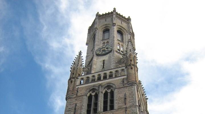 Belfort toren van Brugge