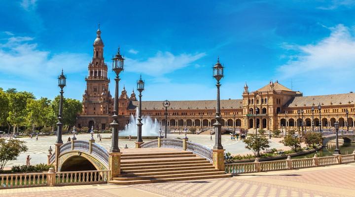 Het bekende plein, Plaza de España