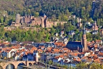 Het romantische stadje Heidelberg