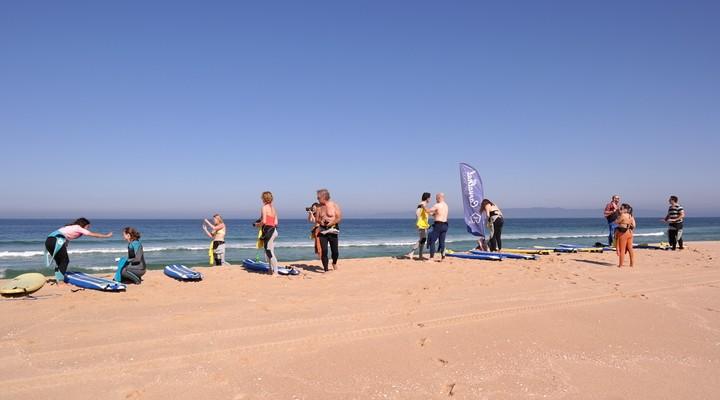 De voorbereidingen tijdens de surfles