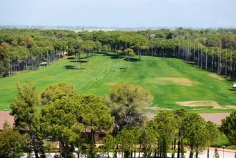 Golfbanen van Turkije