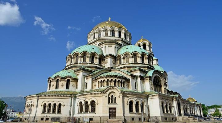 Alexander Nevski kathedraal in Sofia