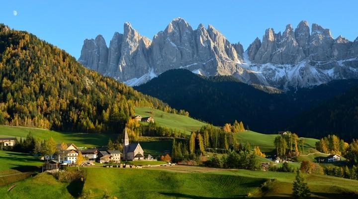 Tirol en de prachtige bergengebieden