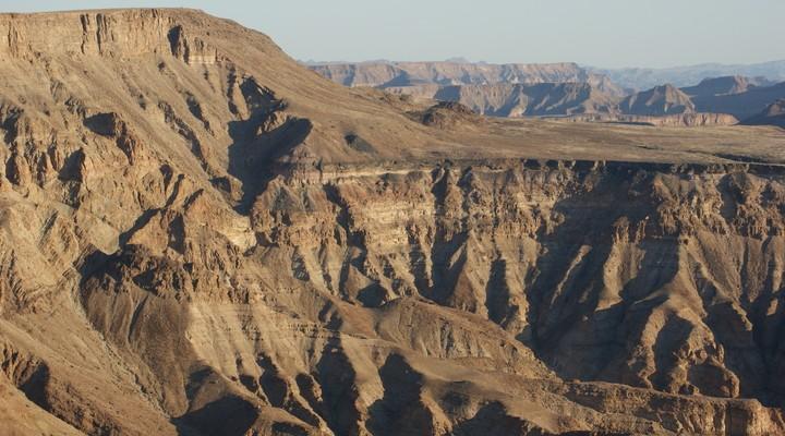 Fish River Canyon, zuiden van Namibië