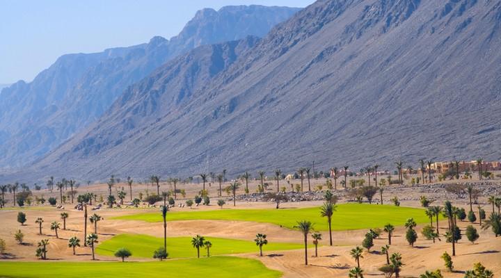 Golfbaan Taba, Egyptische badplaats