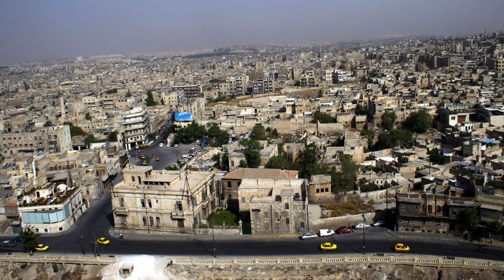 Aleppo, grootste stad Syrie