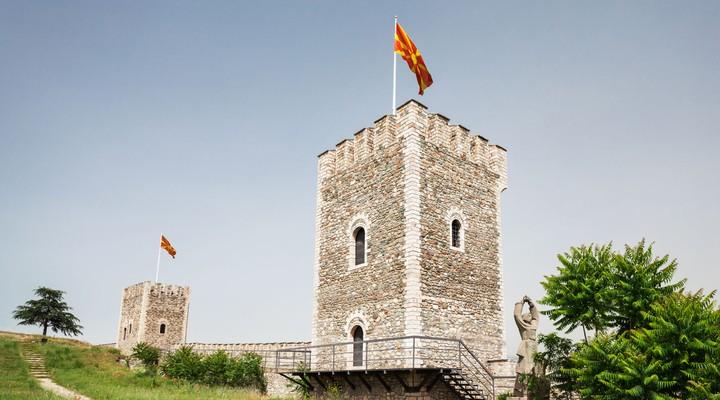 Fort Kale Skopje, Macedonie