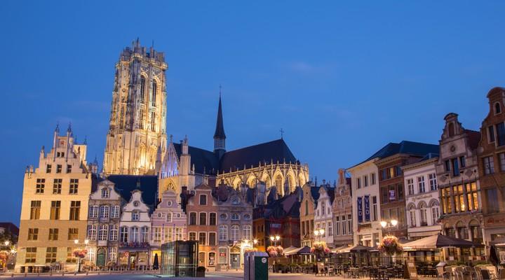 Grote Markt, St.-Romboutskathedraal, Mechelen