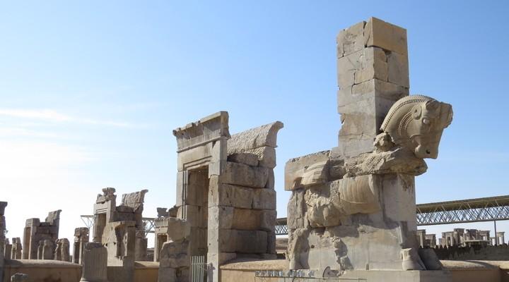 Historische opgravingen in Persepolis