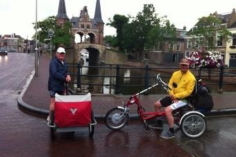 Friese elfstedentocht op de fiets