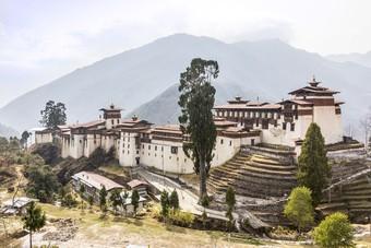 Wandelen door Bhutan