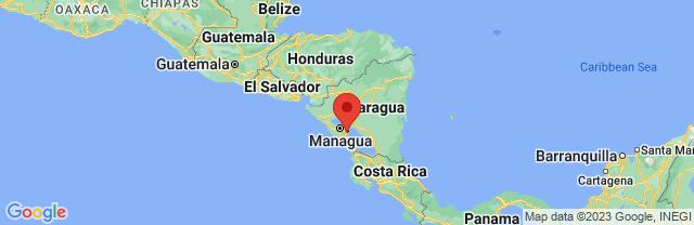 Landkaart Granada