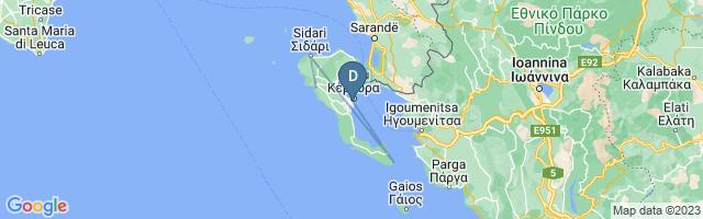 Landkaart met overzicht van deze reis