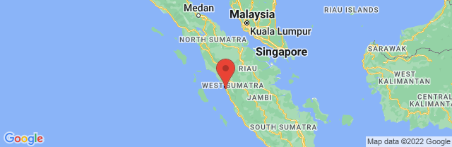 Landkaart Padang