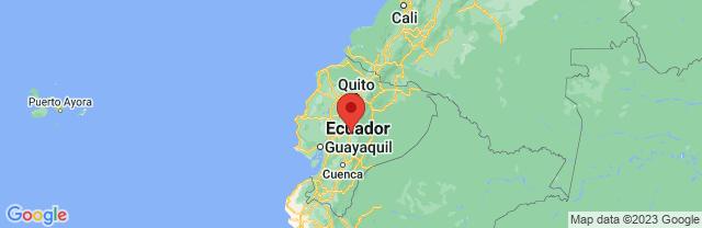 Landkaart Riobamba