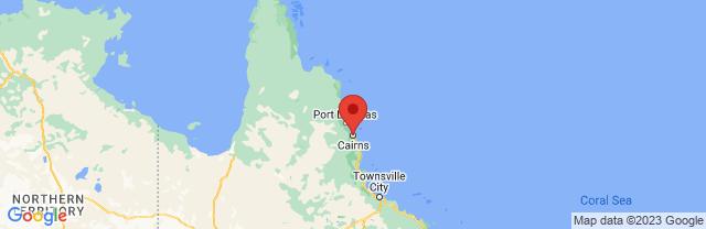 Landkaart Cairns