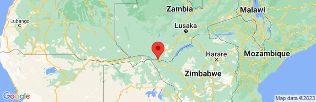 Landkaart Livingstone