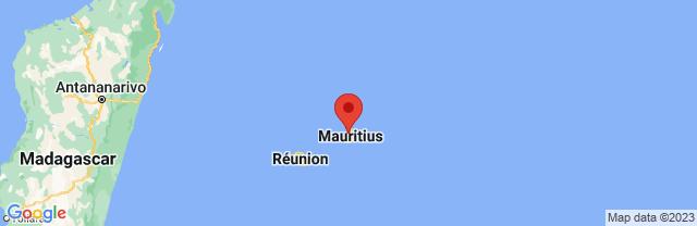 Landkaart Port Louis