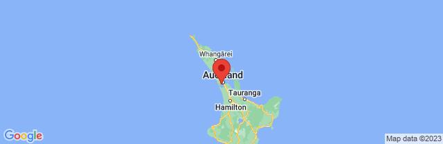 Landkaart Auckland