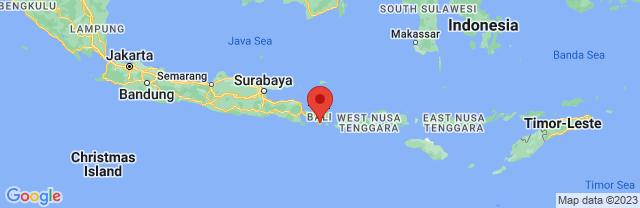 Landkaart Denpasar