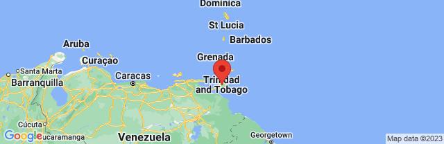 Landkaart Trinidad