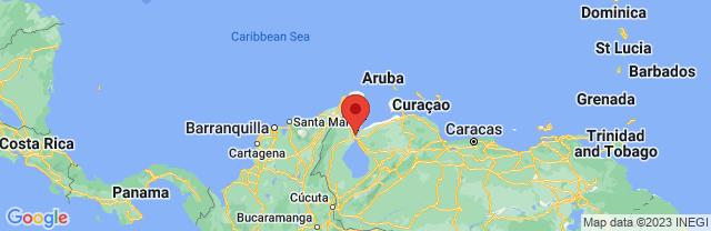 Landkaart Maracaibo