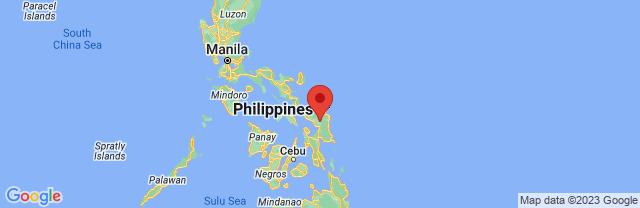 Landkaart Samar