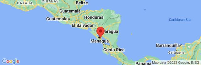Landkaart Masaya
