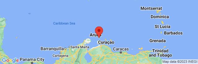 Landkaart Oranjestad