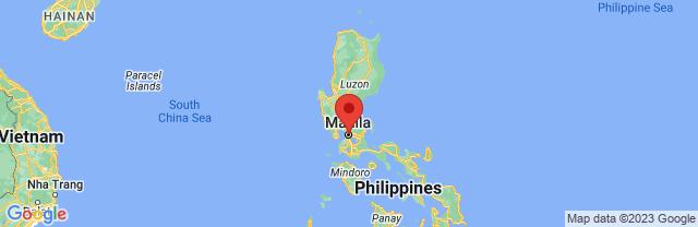 Landkaart Manilla