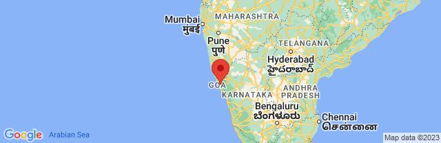 Landkaart Goa