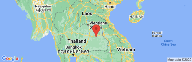 Landkaart Chiang Mai