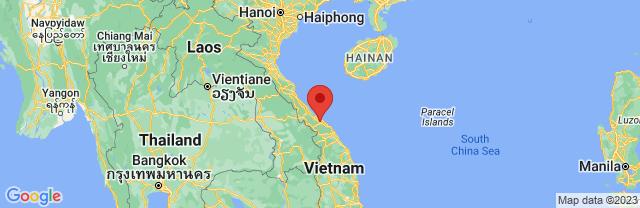 Landkaart Hué