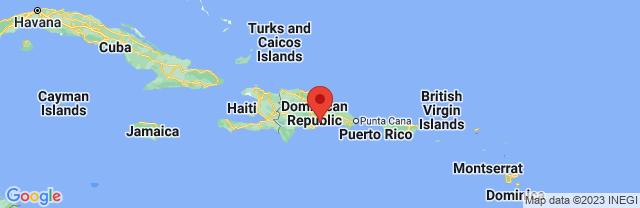 Landkaart Santo Domingo