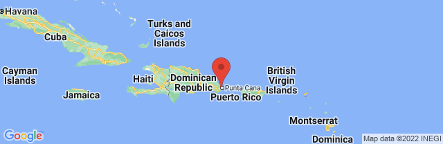Landkaart Punta Cana