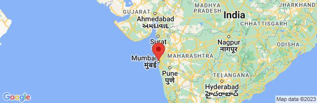Landkaart Bombay (Mombai)