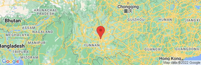 Landkaart Kunming
