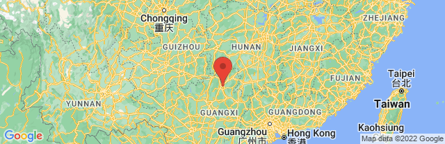 Landkaart Guilin