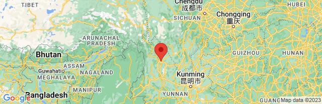 Landkaart Lijiang