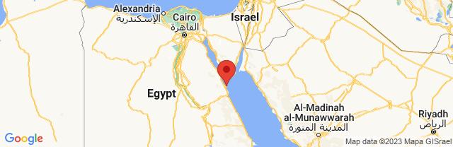 Landkaart Hurghada