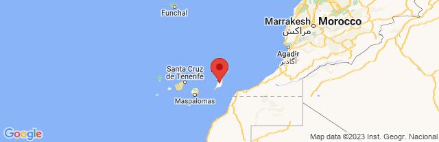 Landkaart Fuerteventura