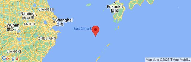 Landkaart Kyushu
