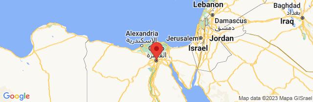 Landkaart Caïro