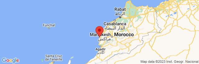 Landkaart Essaouira